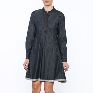 Like New Uncle Frank denim dress. Sz Large.